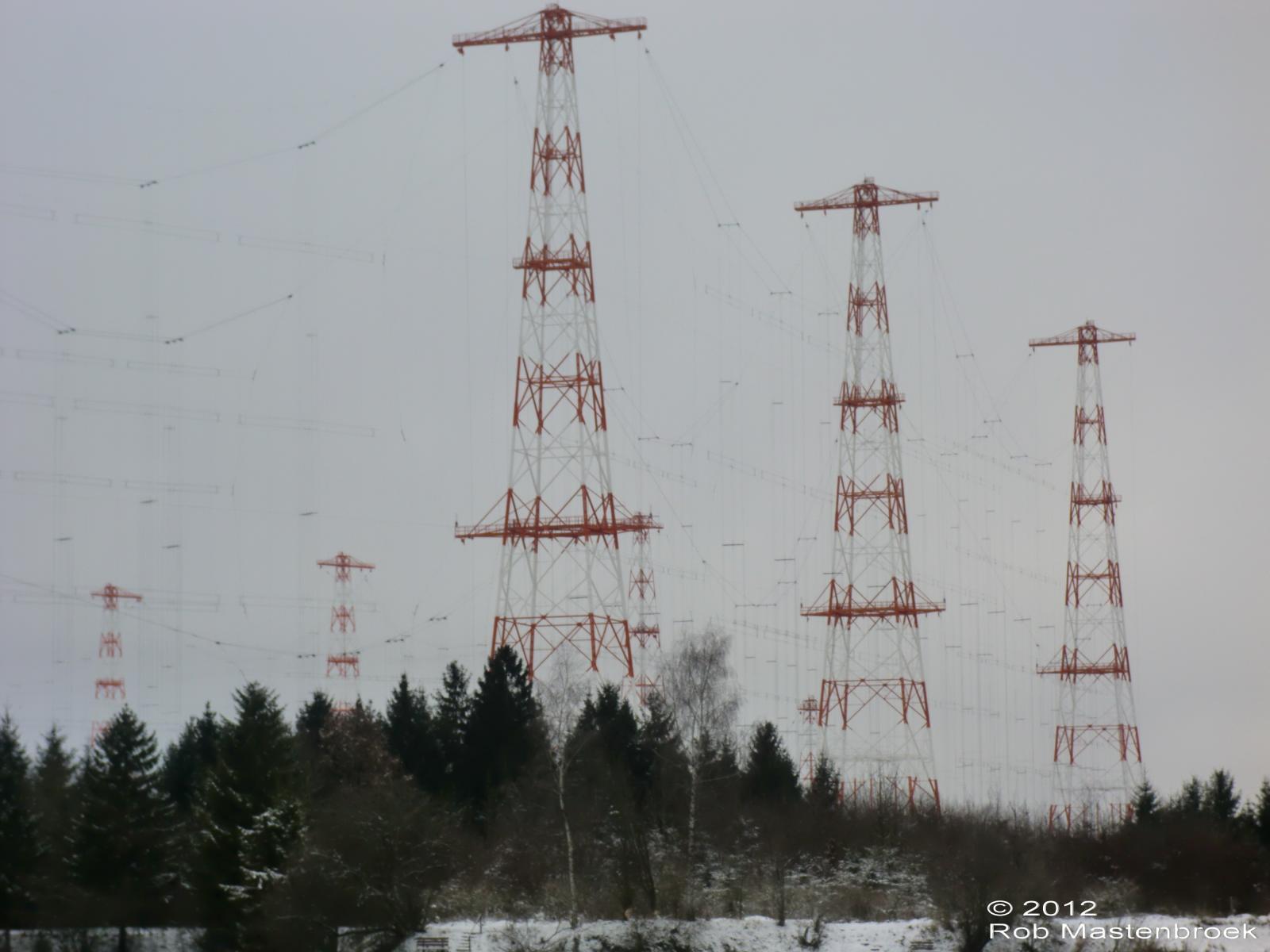 Zendlocatie Wertachtal (D) December 2012 Test Transportradio met 250 kW verhoogd vermogen