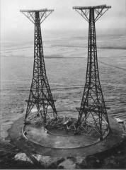 Huizen Kortegolf (NL) zenders PCJ en RNW eind jaren 40 begin jaren 50