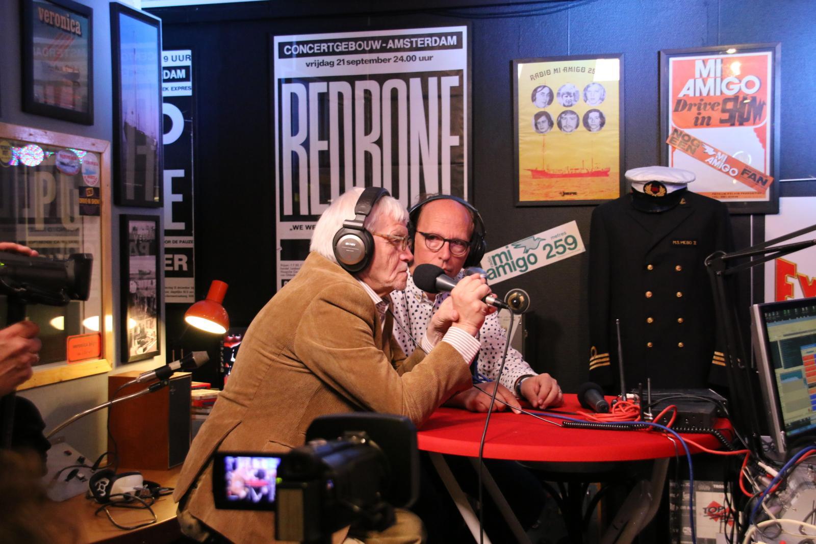 Ad Petersen (Ad Roland) en Frans van der Drift