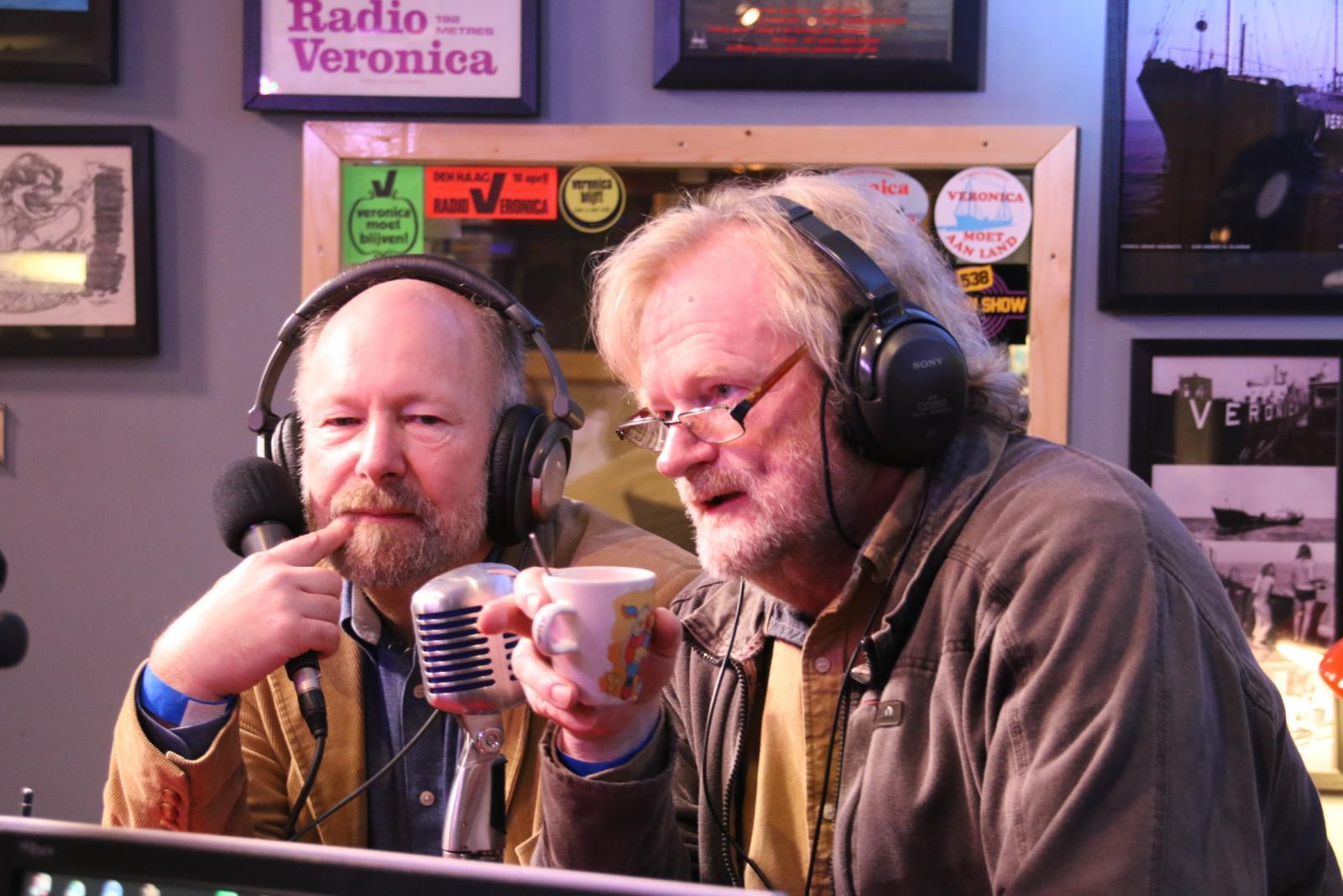 Norman Barrington en Brian Anderson