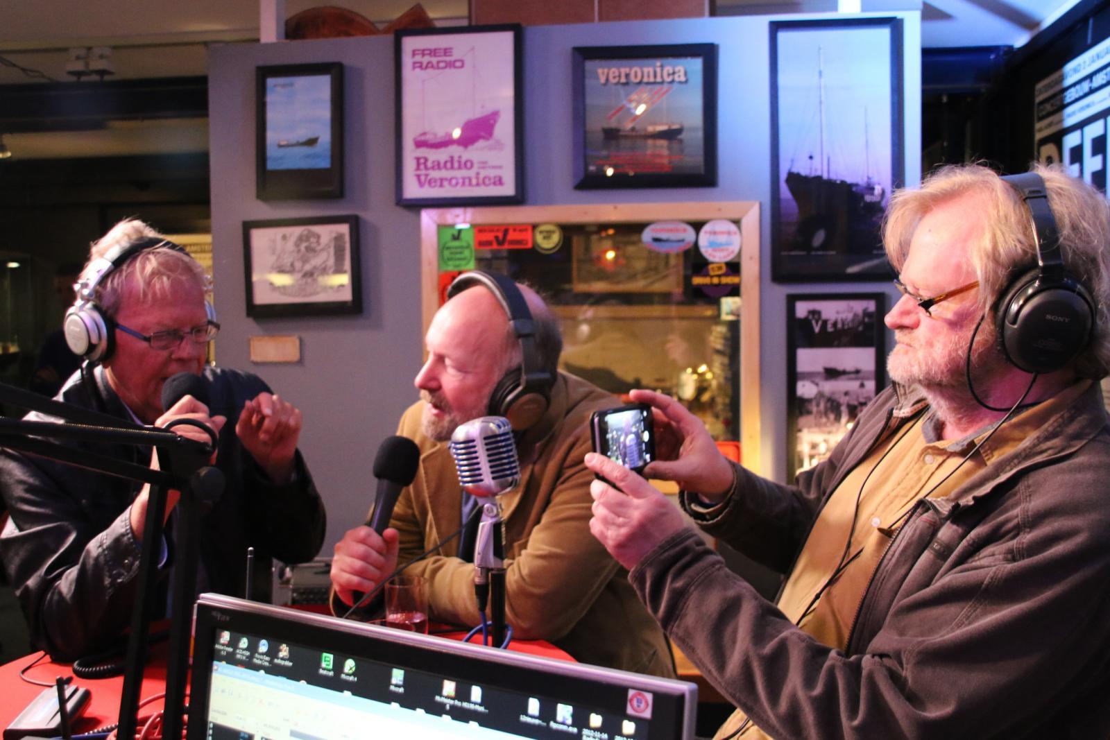 Bert Bennett, Norman Barrington en Brian Anderson