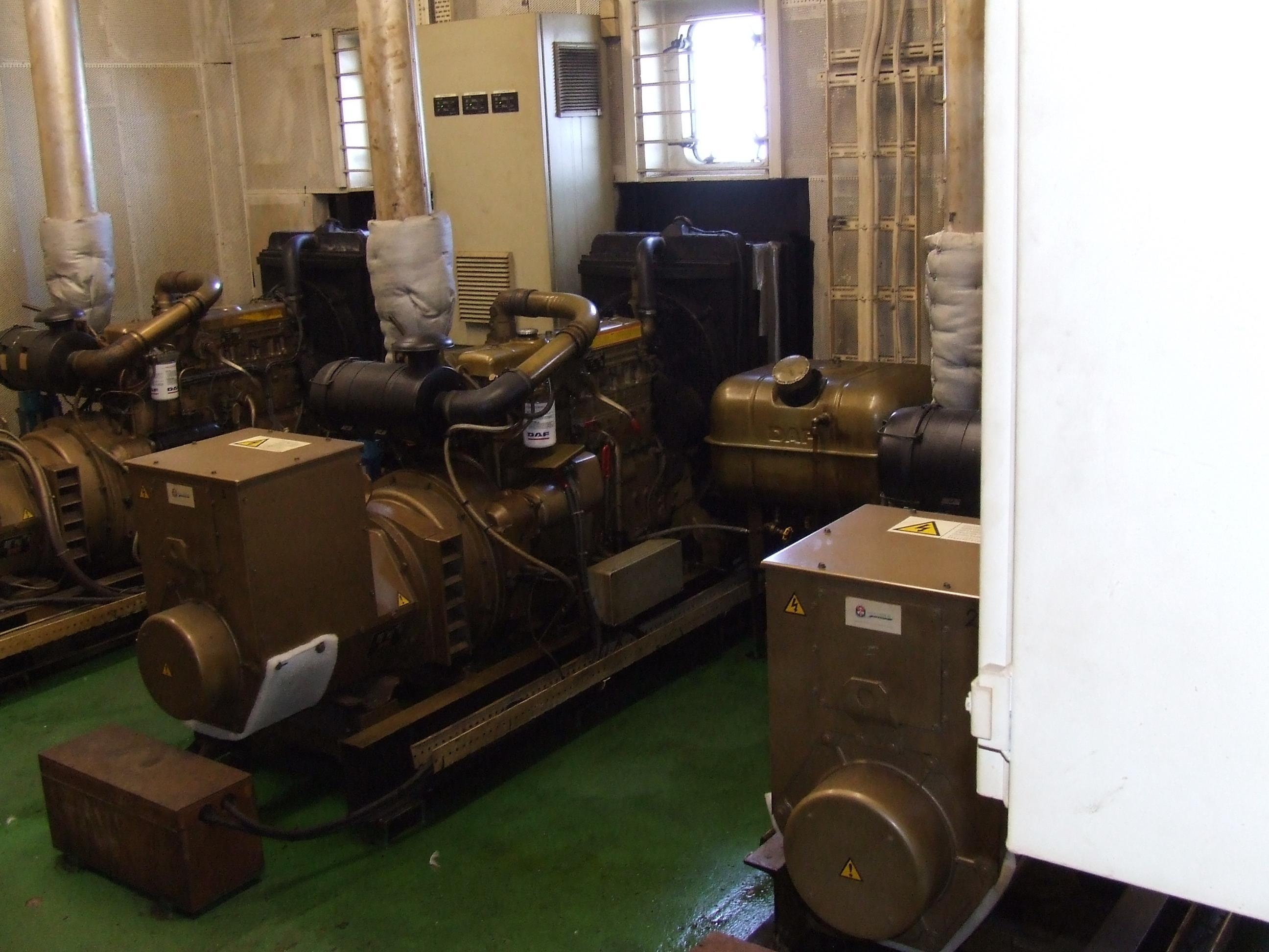 De generatoren.
