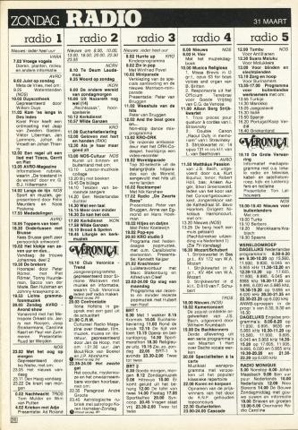Maart 1985