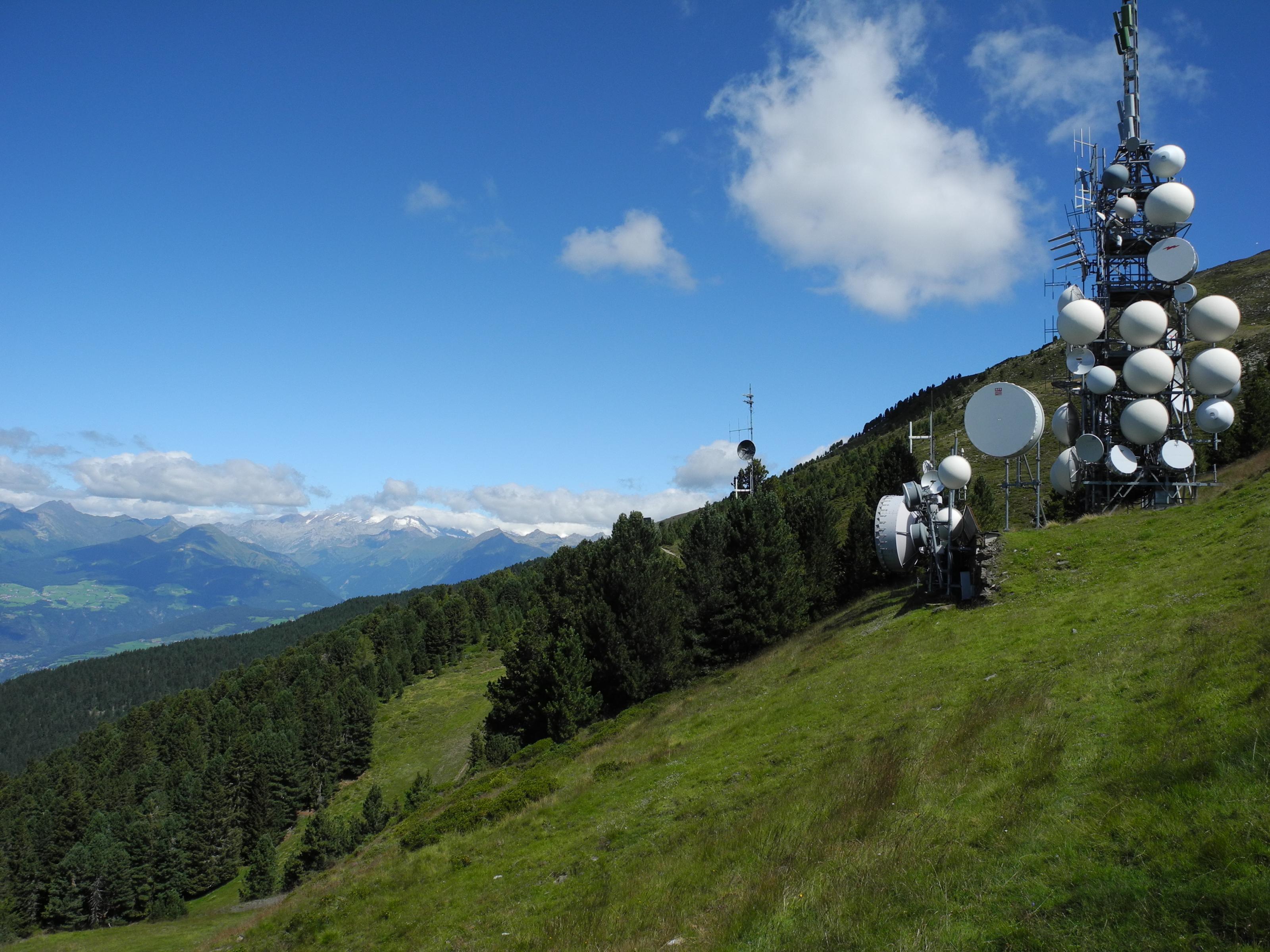 Monte Telegrafo 2504 m - Plose-Massiv