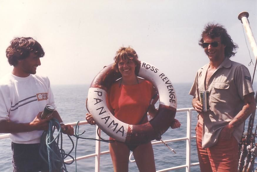 Blake Williams, Marjo Marcus,Tom Anderson, Caroline 1983.jpg