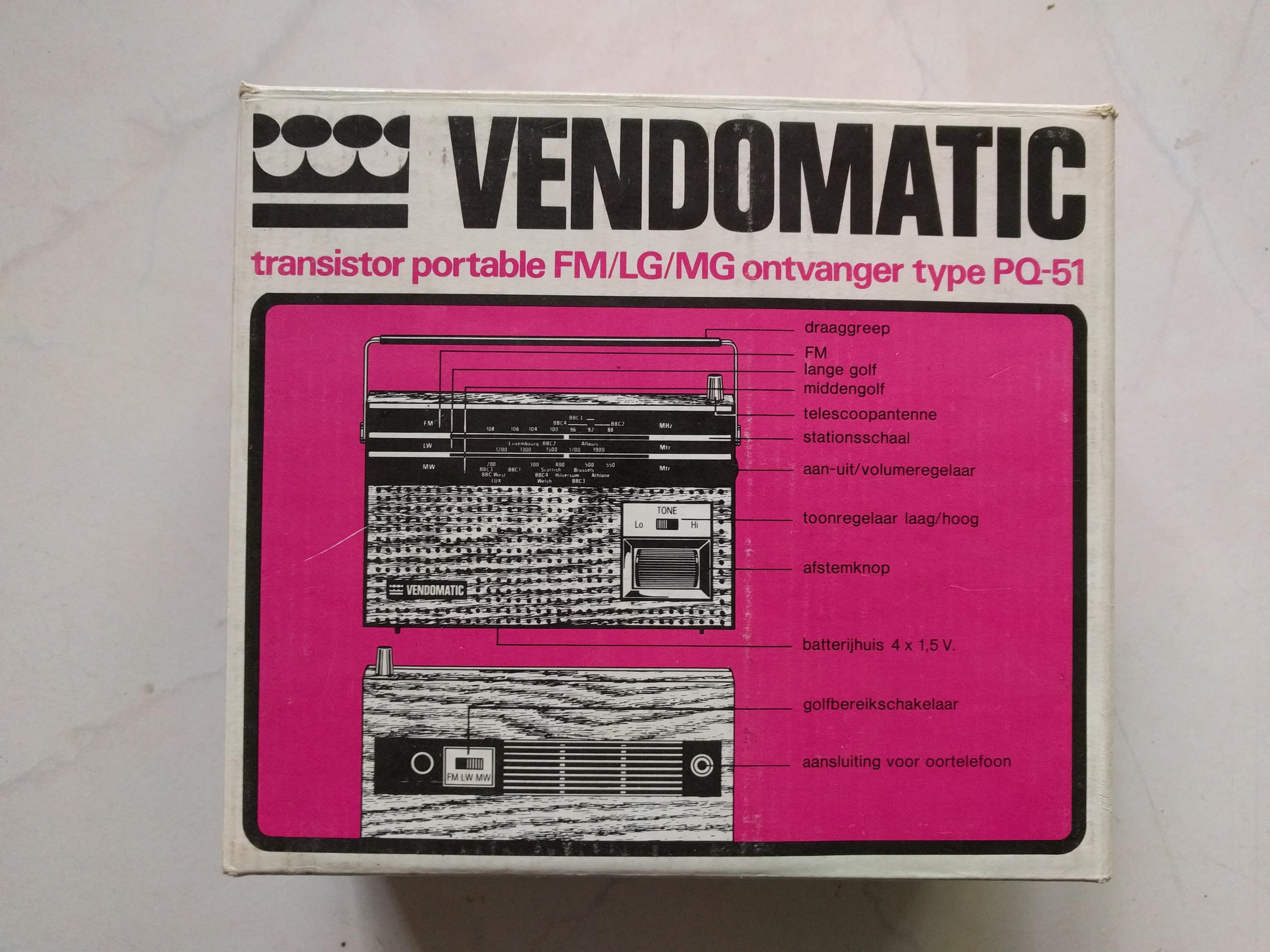 Vendomatic