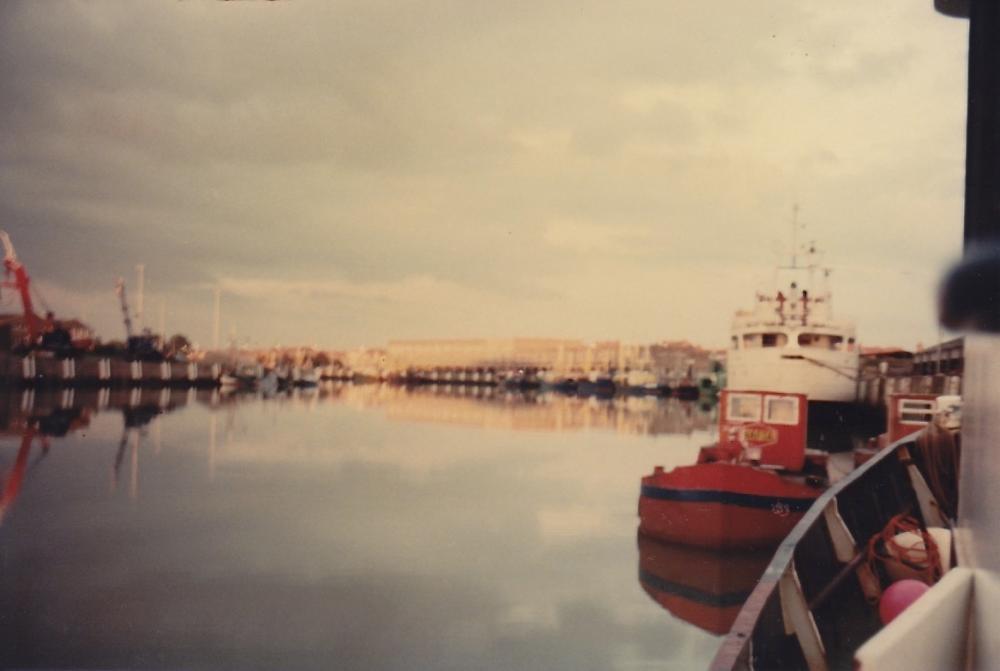 haven Nieuwpoort vanaf Zeemeeuw 1984.jpg