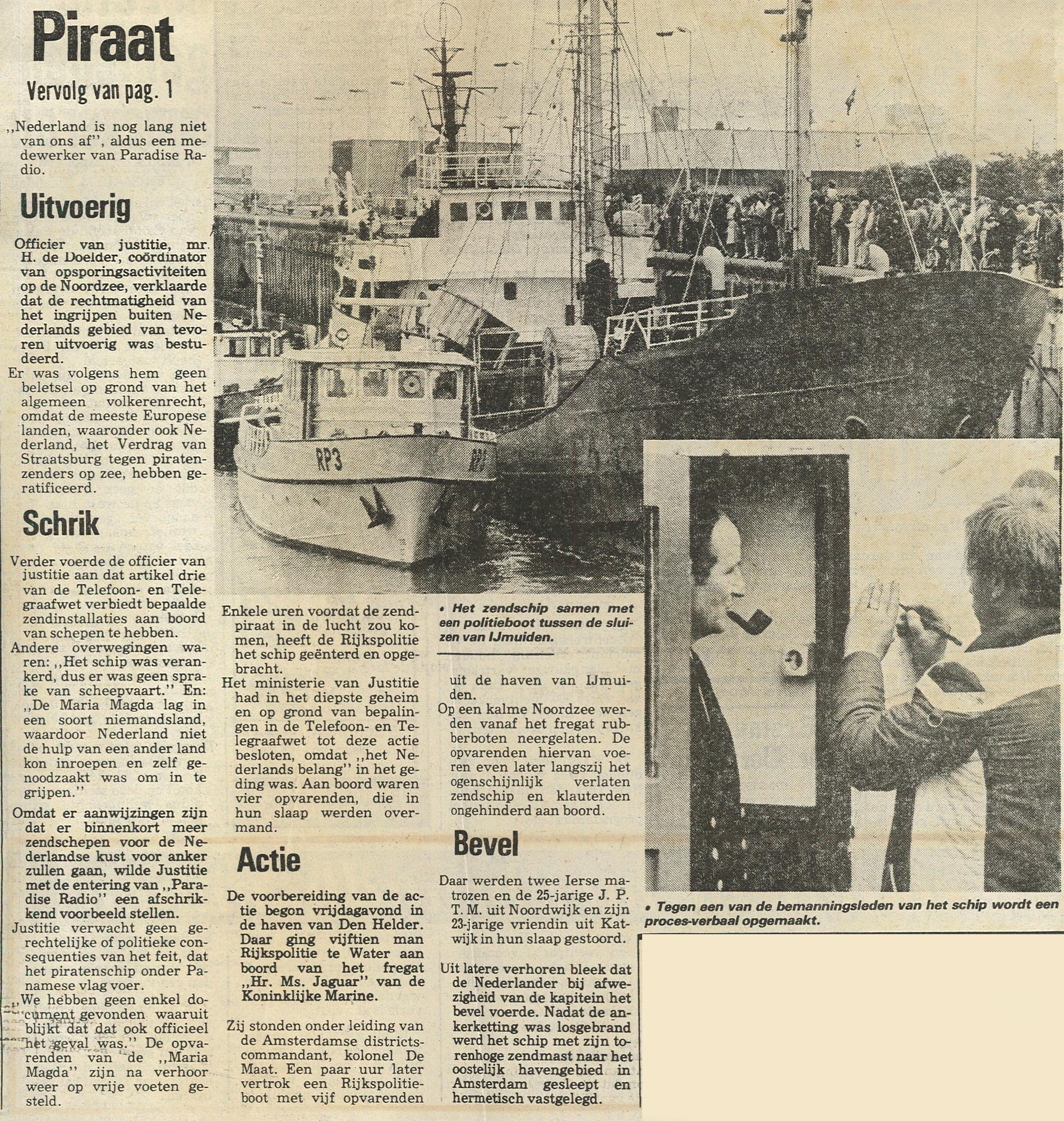 19810803_Telegraaf opbrengen piraat pure zeeroverij02.jpg