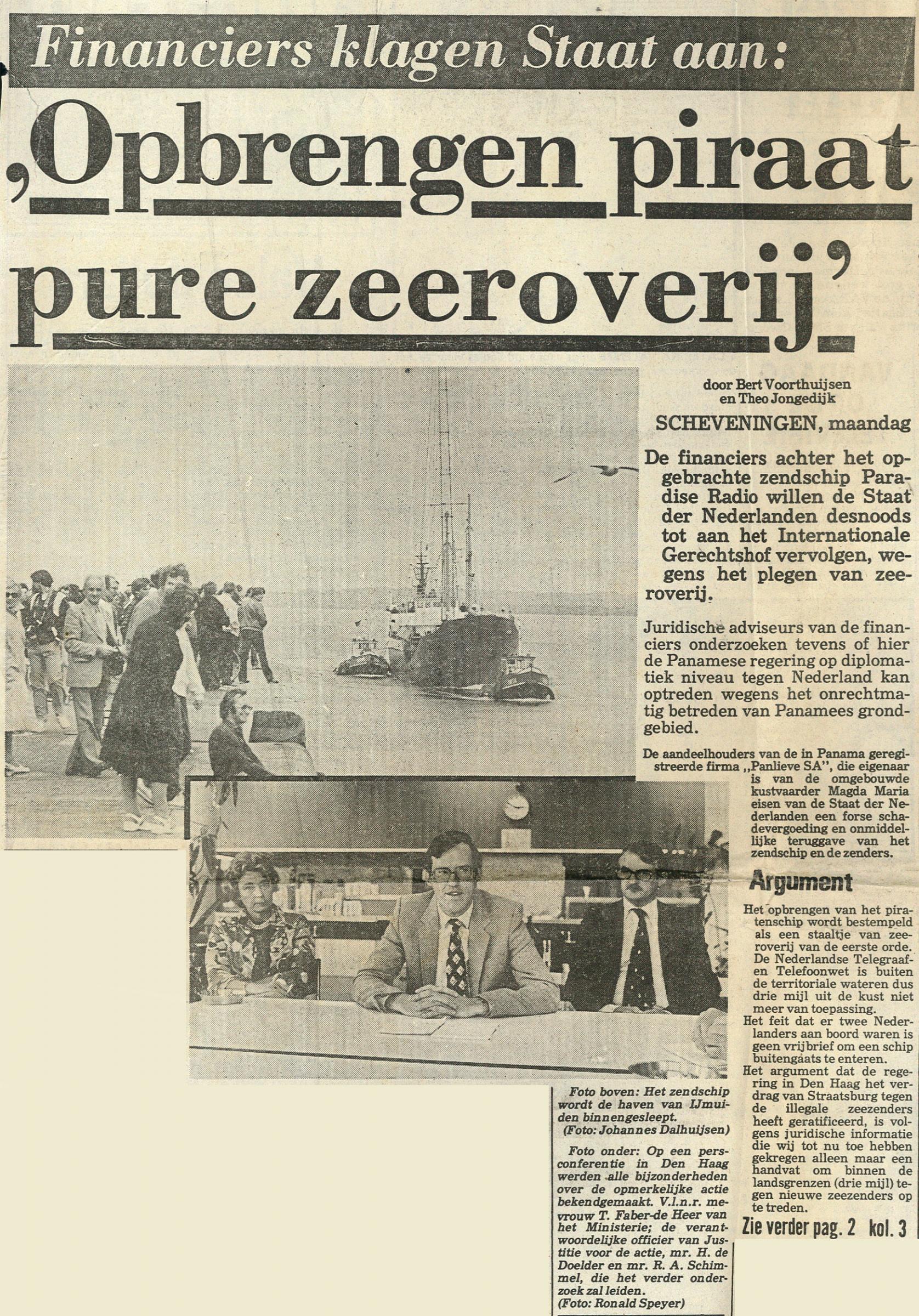 19810803_Telegraaf opbrengen piraat pure zeeroverij01.jpg