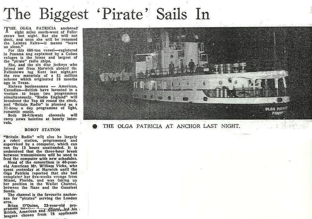 19660504 Evening Standard The biggest piarte sails out Radio England.jpg