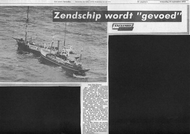 19720913_Telegraaf_Caroline_Zendschip_wordt_gevoed.jpg