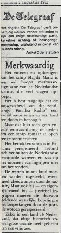 19810803_Telegraaf_Radio Paradijs Merkwaardig.jpg