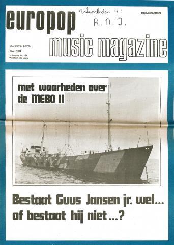 Europop Magazine - 05/06 - maart 1972