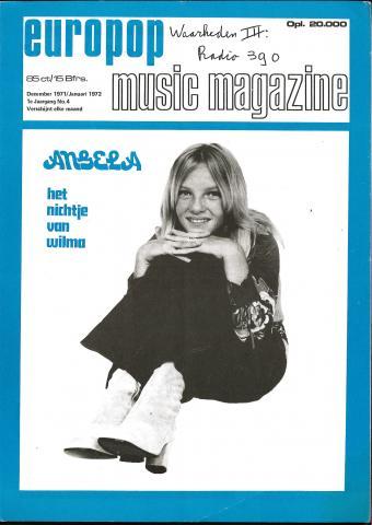 Europop Magazine - 04 - december 1971