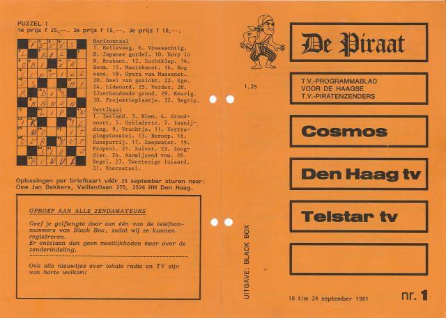 Piratennieuws Den Haag en Amsterdam