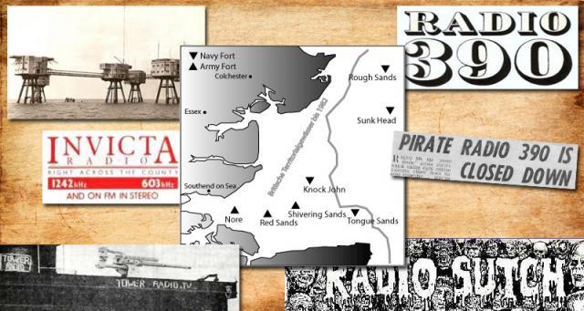 Radio Forts Thames Estuary