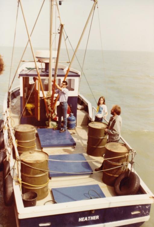 bevoorrading august 1984,Edward King,Jeanett, Stuart Payne( journalist).jpg