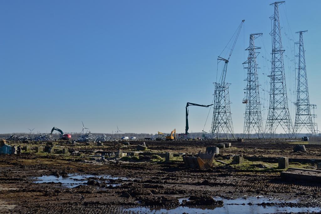 Sloop antennepark Zeewolde - 14-02-2018