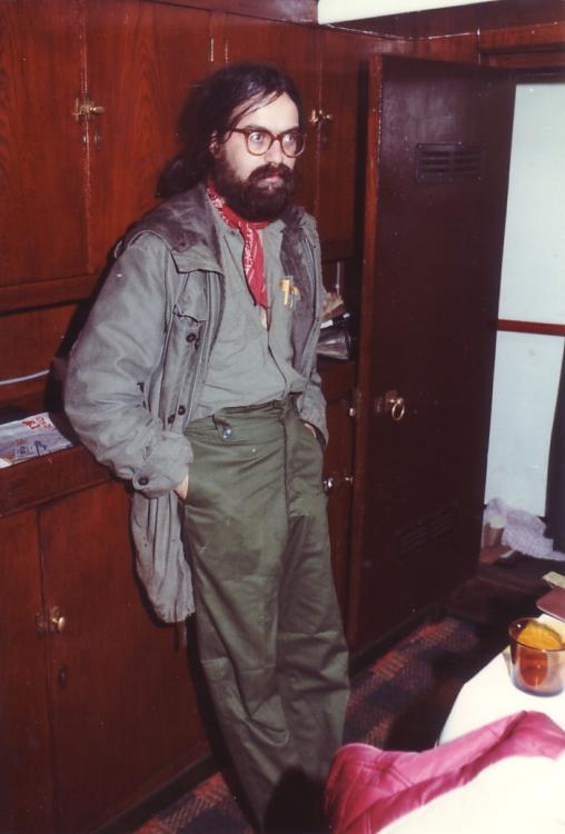 Andy Howard (Bilbo) zendertechnicus Ross  nov 1983.jpg