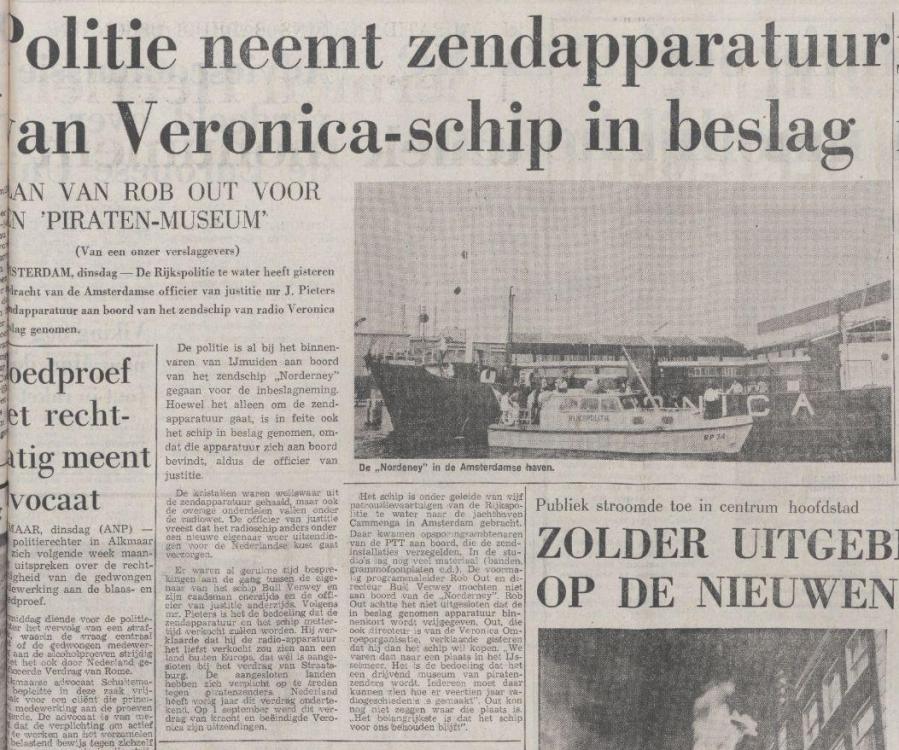 Veronica Politie neemt zendapparatuur in beslag 12-08-1975.png