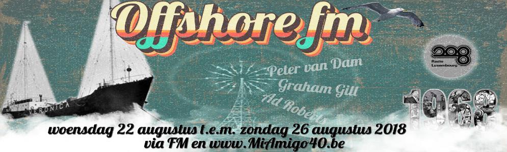 Mi Amigo 40 gaat op zeezenderavontuur met Offshore-FM
