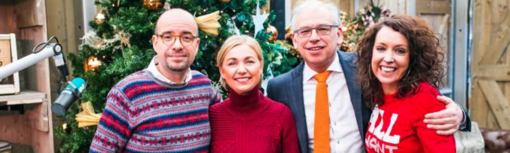Sven Ornelis en Anke Buckinx openen Joe Christmas House op Winterland in Hasselt