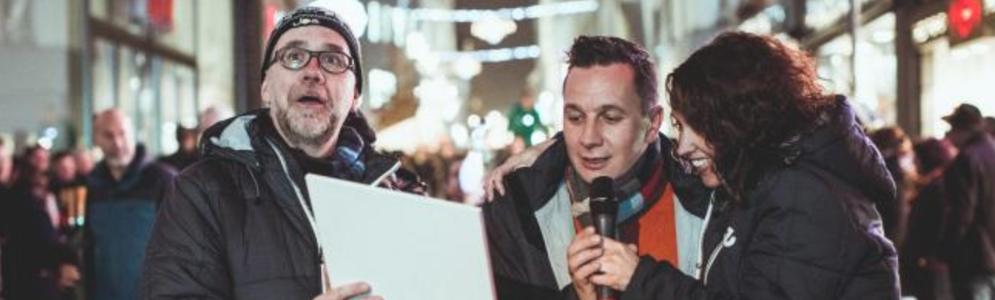 Joe-ochtendduo Sven & Anke opende feestelijk De Parade met Hasseltse burgemeester