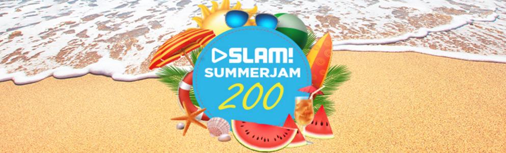 SLAM! mixt 200 zomertracks tijdens de 'SLAM! Summerjam 200'
