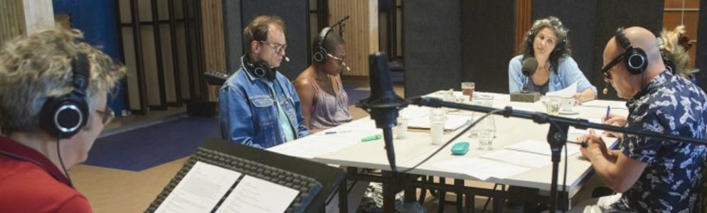 Podcast van genomineerde theatervoorstelling The Nation bij de NTR op NPO Radio 1