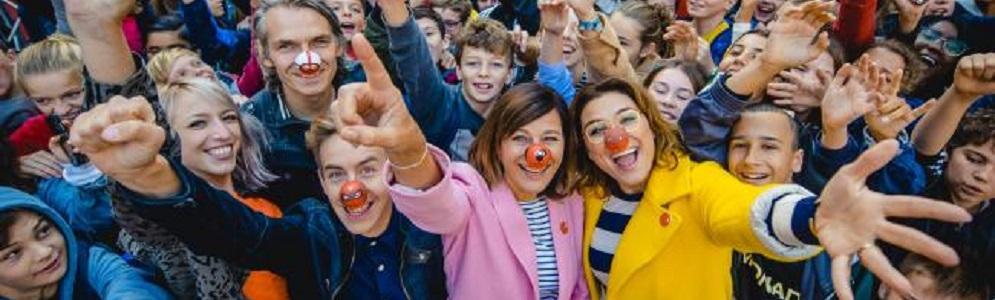 Startschot derde Rode Neuzen Dag: mentale gezondheid van jongeren op school staat centraal
