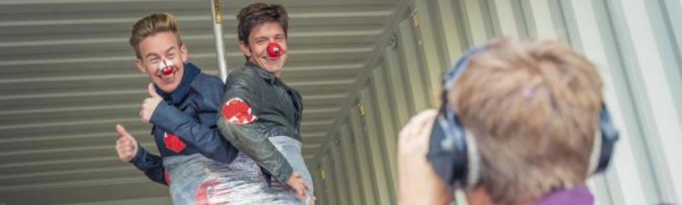 Koen Wauters en Jonas Van Geel organiseren Rode Neuzen Dag XL in het Sportpaleis