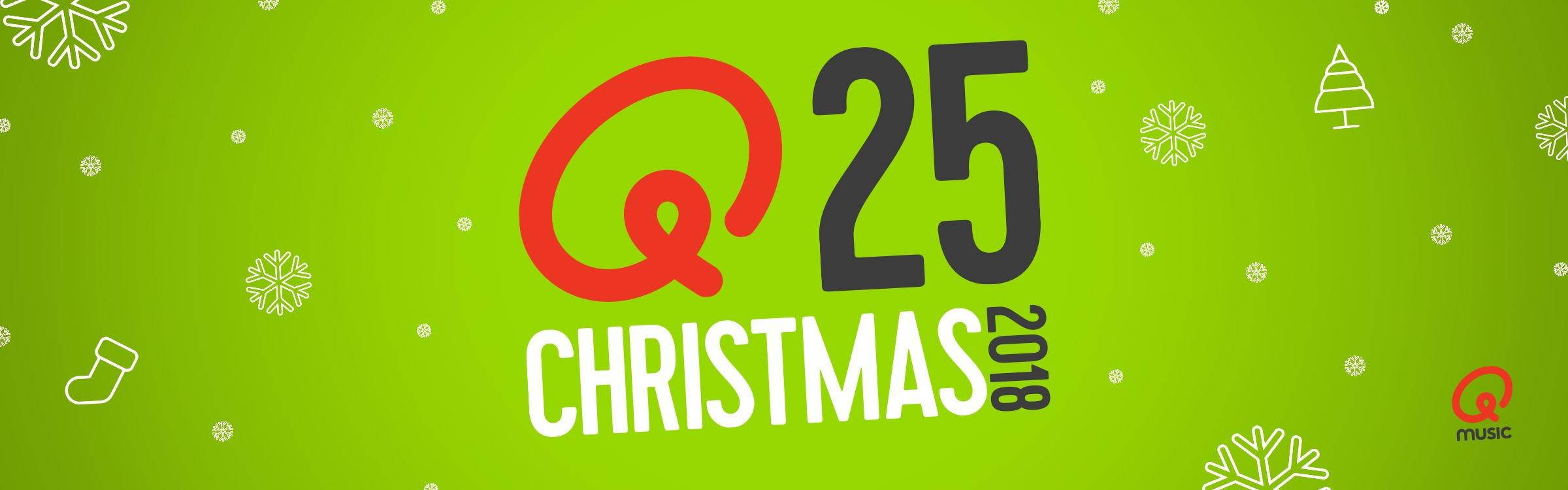 Qmusic herhaalt Q-Christmas 25