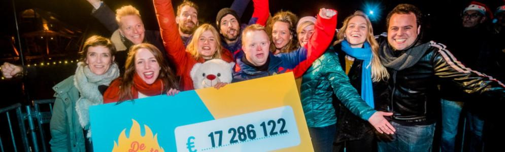 De Warmste Week ooit brengt 17.286.122 euro op voor 1986 goede doelen