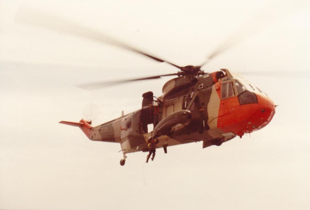 helicopter oefening Koksijde juni 1985 Zeemeeuw.jpg