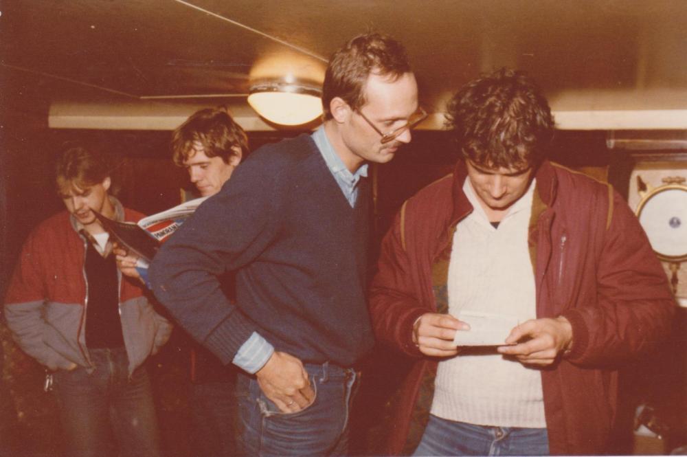 Frits Koning(Mulder), Ad Roberts,Fred Bolland  Ross Revenge ,dec 1984.jpeg