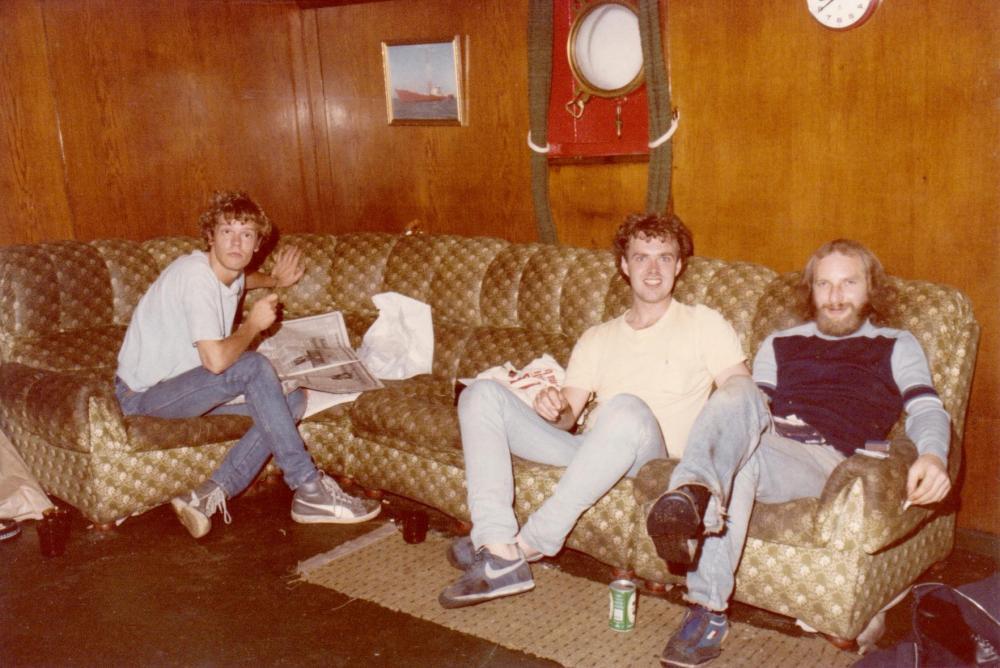 Frits Koning(Mulder) Theo Tromp, Mike Barrington Risse Revenge 1985.jpg