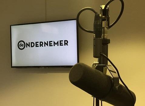 Wekelijkse talkshow 'De Ondernemer' op New Business Radio