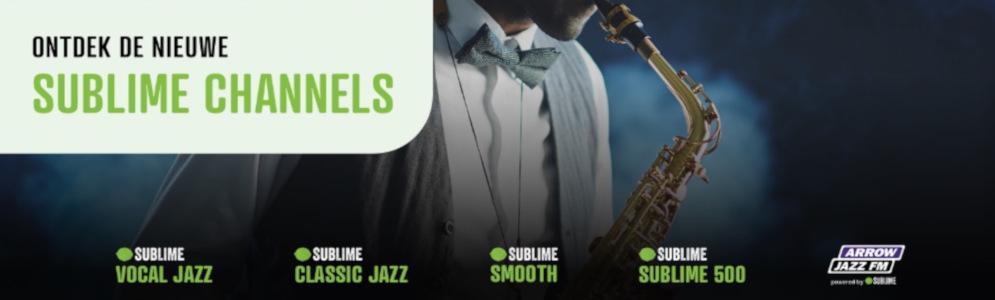 Sublime lanceert 5 nieuwe digitale radiozenders
