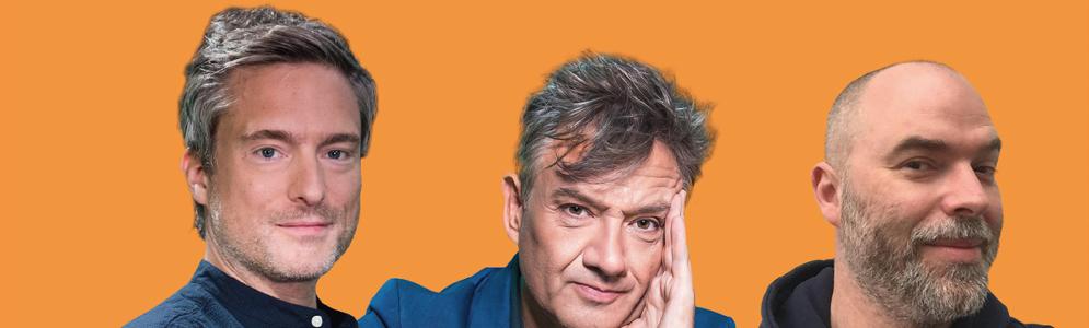 Bart Peeters, Tomas De Soete en Gilles De Coster presenteren een week lang De Madammen op Radio 2