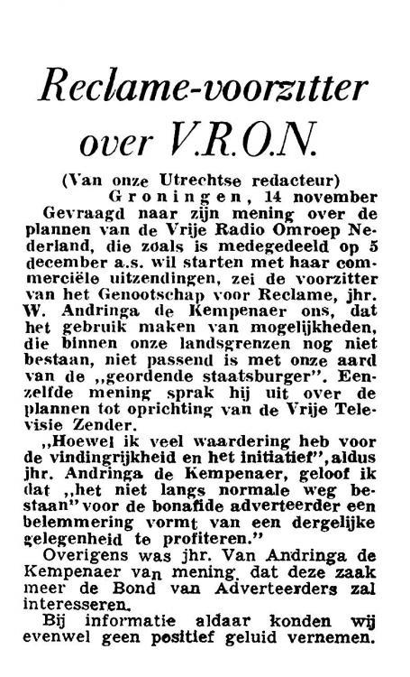 Reclame wereld over VRON 14nov59 Algemeen Handelsblad kopie.jpg