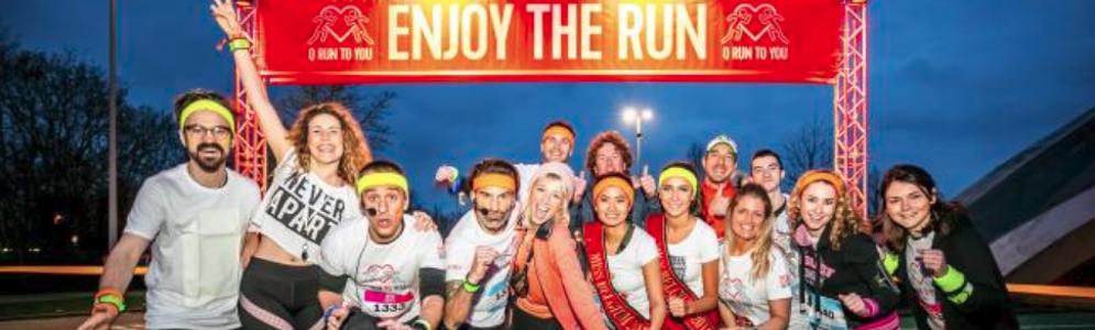 Bijna 4000 lopers en feestvierders op de derde editie van de Q-Run To You in Mechelen