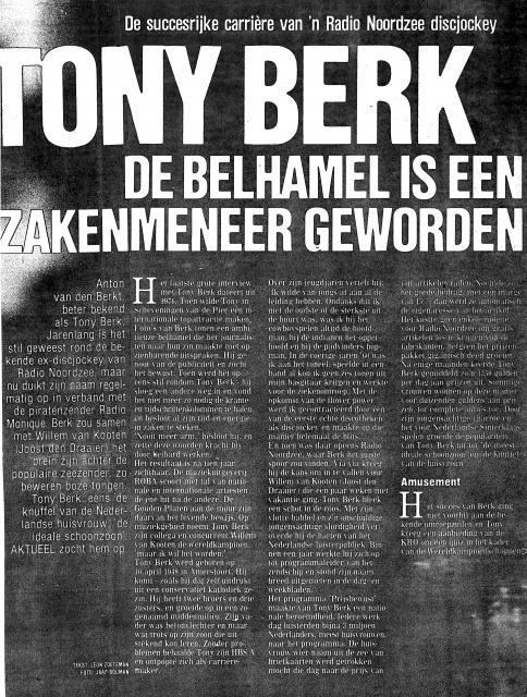 19851019 Aktueel Tony Berk belhamel is zakenmeneer geworden Monique 01.jpg