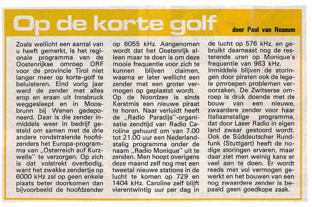 19850209 Avrobode Op de korte golf Monique.jpg