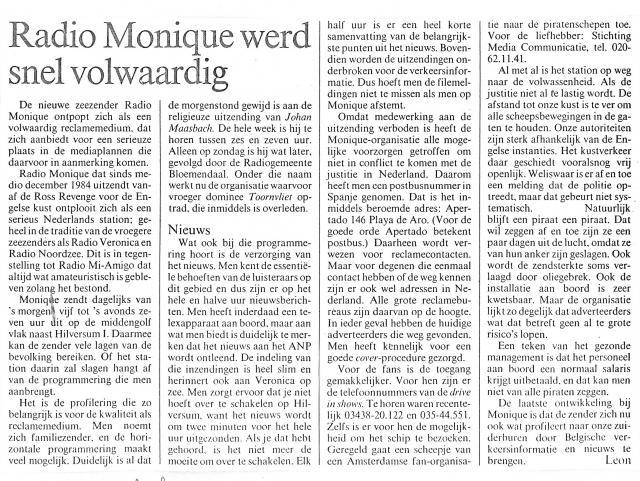 19850214 Adformatie Monique werd snel volwaardig.jpg
