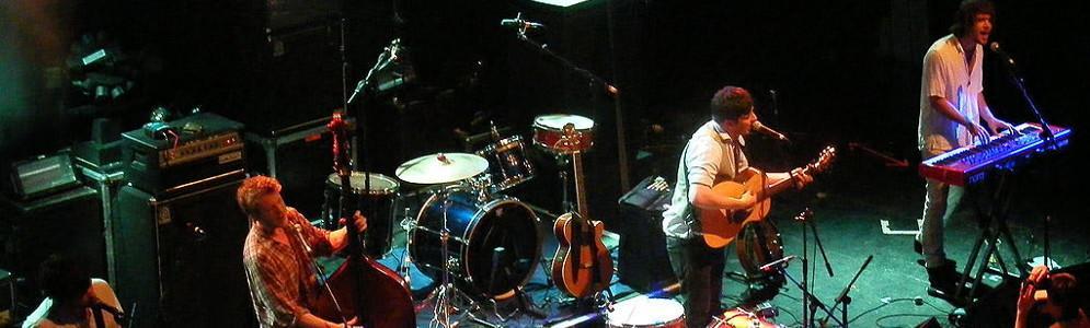 Mumford & Sons geeft privé-optreden voor NPO 3FM