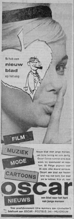 Oscar 1961-03-20 Binnenkort Oscar, het  blad voor jonge mensen.jpg