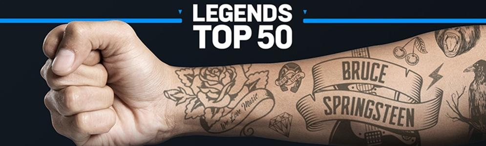 Freddie Mercury op 1 in Veronica Legends Top 50