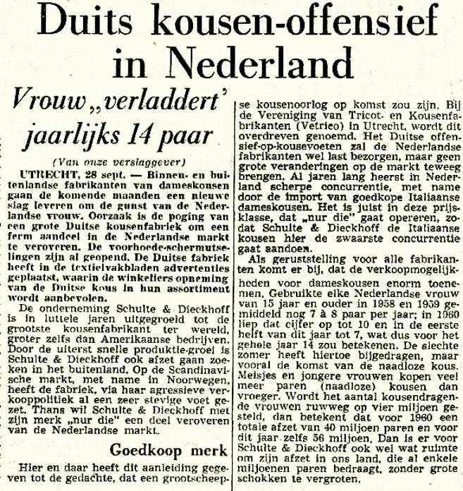Veronica 1961-09-28 Duits kousen offensief in Nederland (Nur Die) (Volkskrant).jpg
