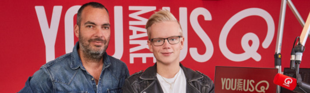 Jordi Warners stapt over van SLAM! naar Qmusic