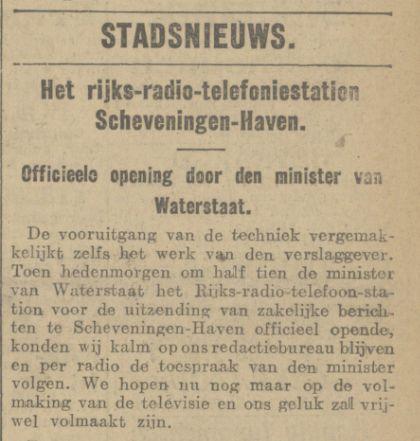 03-01-1927 Openning Rijks Radio Telefoniestation Scheveningen.jpg